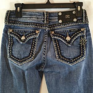 *MISS ME* Distressed Bootcut Jeans JP5014-6